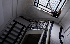 Ситуации: лестница, перила, окно