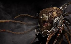 Фантастика: шлем, взгляд, Маска, Стимпанк