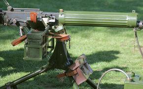 Оружие: пулемёт, тяжёлый, трава, оружие, станковый, «Виккерс»