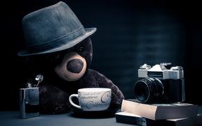 Ситуации: мишка, фотоаппарат, игрушка