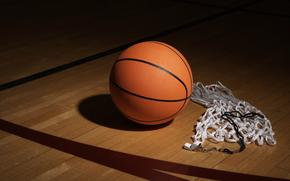 Спорт: Сетка, Свисток, Обои, Мяч, Тень, Фото, Баскетбол, Темнота
