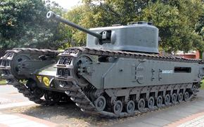 Оружие: пехотный, бронетехника, танк, «Черчилль»