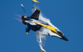 Авиация: авиация, дым, самолет