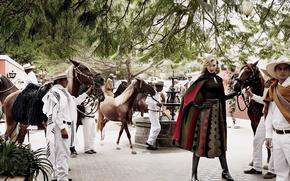 Ситуации: мексика, лошади