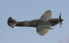 Авиация: ВВС Великобритании, английский истребитель времён Второй мировой войны, Супермарин Спитфайр