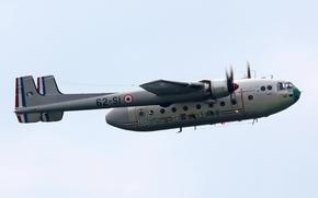 Авиация: самолёт, французский, военно-транспортный