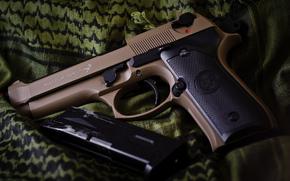 Оружие: самозарядный, оружие, пистолет