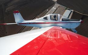 Авиация: крыло, высота, вид, самолёт, пилот