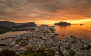 Город: Aksla, alesund, NORWAY