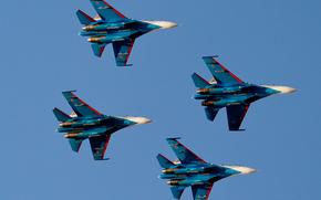 Авиация: полёт, Русские витязи