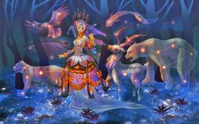 ����������: athena_erocith, parade_of_stars, astrological, art