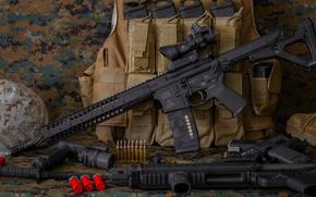 Оружие: винтовка, карабин, штурмовая, оружие