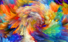 Текстуры: рельеф, объем, краски, пятно, цвет, узор, радуга