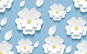 Текстуры: листики, текстура, фон, цветочки