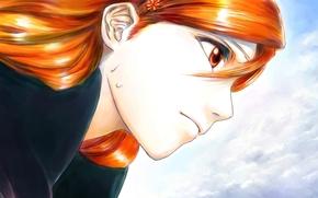 Аниме: лицо, Орихиме Иноуэ, девушка