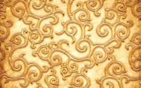 Текстуры: узор, текстура, золотистый цвет