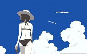 Аниме: пляж
