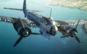 Авиация: арт, многоцелевой самолет, рисунок