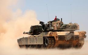 Оружие: основной, боевой, пыль, танк, Абрамс