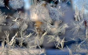 Текстуры: стекло, мороз, мороз на стекле