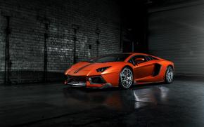 Машины: Lamborghini, авентадор, ламборджини
