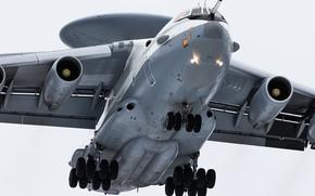 Авиация: самолёт, радиолокационного, и управления, обнаружения, дальнего, взлёт, ДРЛО