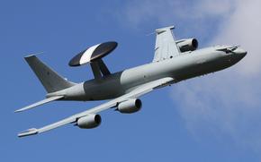 Авиация: обнаружения, дальнего, «Сентри», Сентри, радиолокационного, полет, самолёт