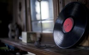 Музыка: трубка, музыка, пластинка, винил