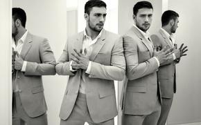 Мужчины: для фильма Годзилла, фотосессия