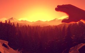 ����: Firewatch, Games