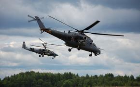 Авиация: вертолёты, полет