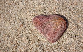 Текстуры: сердце, камень, песок