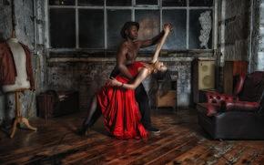 Ситуации: танец, фон, комната