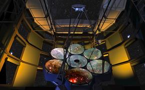 Космос: небо, зеркала, Гигантский Магелланов телескоп
