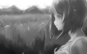 Аниме: девушка, аниме, арт