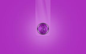 Минимализм: эмблема, полоса, ромб, объем