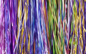 Текстуры: разноцветные, тесьма, ленточки