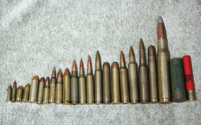 Оружие: оружие, сравнение, калибр, патроны
