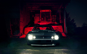 Машины: Chevrolet, мускул кар, шевроле, камаро, перед