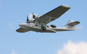 Авиация: самолёт, полет, «Каталина», противолодочный, морской, патрульный