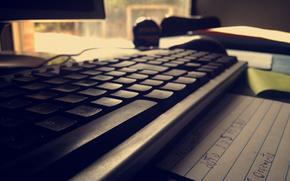 Hi-tech: tech, keyboard, pc