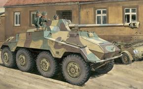 Оружие: арт, Техника, Германия, PaK.40, Вермахт