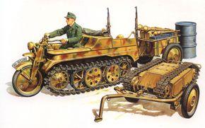Оружие: арт, Германская техника, Вермахт, Sd.Kfz. 2