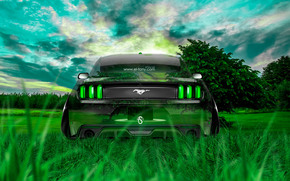 ������: Tony Kokhan, Ford, Mustang, GT, Crystal, Car, Nature, Muscle, Green, Grass, el Tony Cars, Photoshop, Design, ���� �����, �������, �����, ����, �������, �����, ��� �����, ������ ���, ����������, ������, �������, �����, �������, ��
