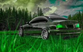 ������: Tony Kokhan, BMW, M3, E46, Crystal, Nature, Green, Grass, el Tony Cars, Wallpapers, Photoshop, Style, ���� �����, �������, �����, ���, �3, �46, ����������, �������, �������, �����, ����, 2014, ���