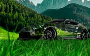 ������: Tony Kokhan, Nissan, 370Z, JDM, Crystal, Nature, Car, Green, Grass, el Tony Cars, Photoshop, ���� �����, �������, ������, 370 ���, ����������, �������, ������, ����, �������, �����, ����, 2014