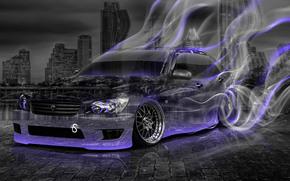 ������: Tony Kokhan, Toyota, Altezza, JDM, Crystal, Car, Smoke, Drift, Style, Violet, Neon, Night, el Tony Cars, Photoshop, HD Wallpapers, ���� �����, �������, �����, ������, �������, ����������, ������, ���, ����, ��������, ����������