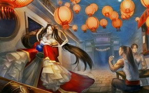 Фантастика: lunar_revel, fan art, girl, china, men