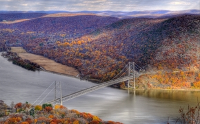 �������: The Bear Mountain Bridge, New York, �����, ����, ���, ����, ������