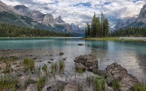 �������: Maligne Lake, Jasper National Park, ����, �����, �������, ������